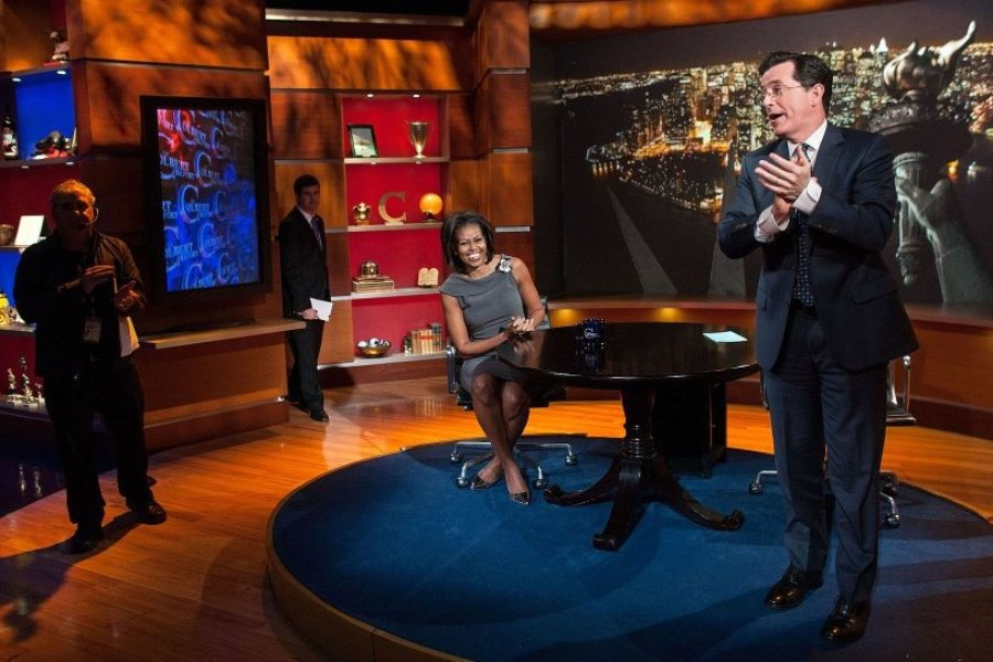 Stephen Colbert: Real Person or Copyrighted Character?